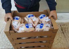 Διανομή νωπών τροφίμων για τους δικαιούχους του προγράμματος ΤΕΒΑ