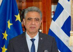 Συγχαρητήρια Δημάρχου Χίου στο Χιώτη Αξιωματικό του Πολεμικού Ναυτικού Στέλιο Κωστάλα