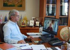 Συνάντηση Αντιπεριφερειάρχη Χίου κ. Π. Μπουγδάνου με τον Δήμαρχο Ηρωικής Νήσου Ψαρών κ. Κωνσταντίνο Βρατσάνο